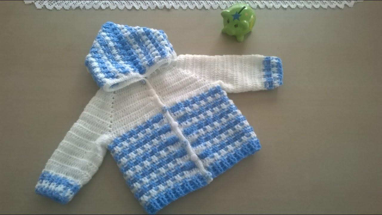 Chaleco crochet niño