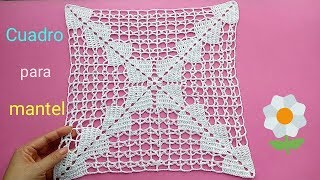 Grany para mantel crochet