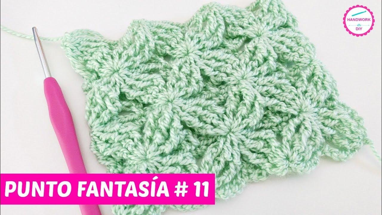 Punto Fantasía crochet