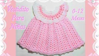 Vestido Crochet Niña Crochet Full